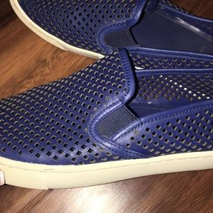 Tory Burch Shoes - Tory Burch Perforated Slip on Sneakers